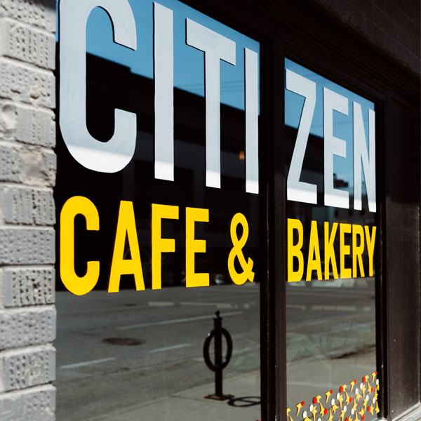 Signage - Citizen Bakery
