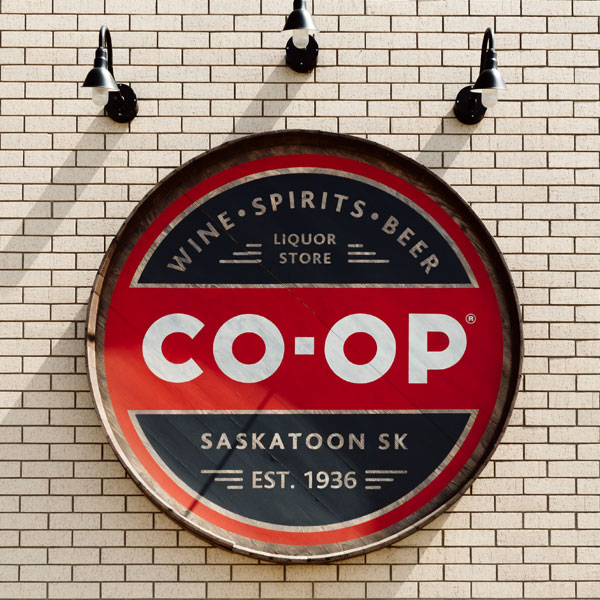 Signage - Co-op Liquor
